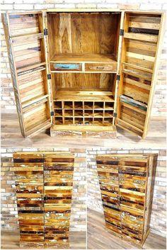 pallet drink cabinet