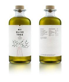 + Design de embalagem :   Desenvolvido pela mousegrapraphics, a marca de azeite My Olive Tree possui linhas suaves e interessantes.