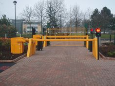 Avon Armstrong High Security PAS 68 Barriers are designed to complement Avon Barriers range of high security PAS68 road blockers, EB950CR Crash Tested PAS 68 Barriers can withstand direct impact forces in excess of 720 KJ crash tested to PAS 68, High Security Barriers provides shallow mounted protection to sites from extreme Vehicle Borne Improvised Explosive Device (VBIED) attack.
