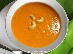 Una sopa a partir de vegetales con toque asiático que va a encantarte. ¿Quieres aprender la receta?
