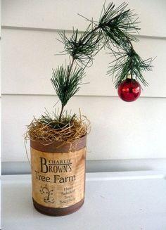 Charlie Brown tree farm...
