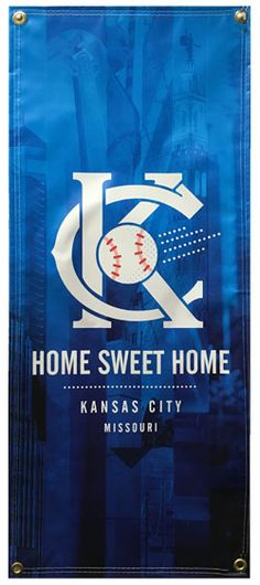 Home Sweet Home baseball banner for sale