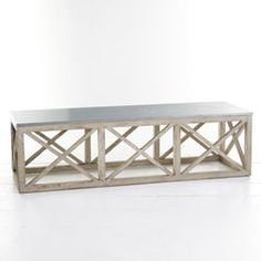 Trellis Coffee Table - Wisteria