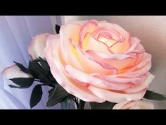 Торшер роза из изолона мк бесплатно - YouTube Diy And Crafts, Paper Crafts, Hand Embroidery Videos, Paper Flowers, Bouquet, Crochet, Handmade, Watch, How To Make Flowers Out Of Paper