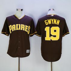 Padres #19 Tony Gwynn Coffee New Cool Base Stitched MLB Jersey