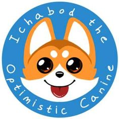 Ichabod is the most optimistic corgi on the internet! He is always glad to brighten your day!