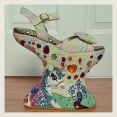 irregular choice tall tail unicorn shoes