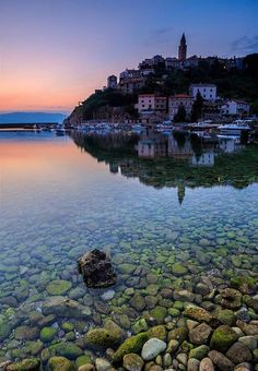 Abendstimmung auf Krk #Istria #Croatia #Krk  Info & accomodation Istrien Pur: www.istrien-pur.com