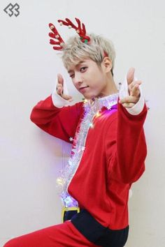 my santa~... or reindeer?