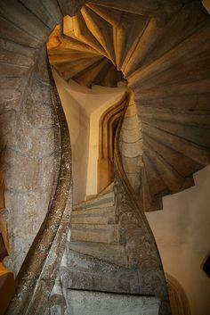 Double Helix Staircase, #Graz, Styria by cazfoto Graz, #Austria http://www.travelandtransitions.com/austria-travel/