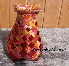 Blomstret vase