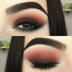Make-up Abend Make-up Maquillage - maquillage naturelle - maquillage tutoriel - maquillage mariage M Matte Eye Makeup, Hooded Eye Makeup, Skin Makeup, Makeup Brushes, Makeup Remover, Makeup Eyeshadow, Orange Eyeshadow, Glitter Eyeshadow, Eyeshadow Makeup Tutorial