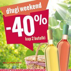 Centrum Wina dba o to, aby nasz długi weekend był naprawdę udany! :)