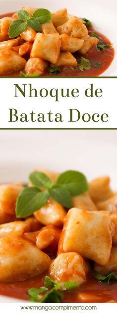 Nhoque de Batata Doce | Almoço de Final de semana em Família! #receita #comida #almoço