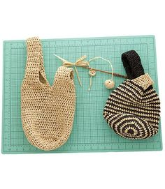 Japanese Knot Bag Free Crochet Pattern