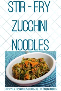 Stir Fry Zucchini Noodles (or Zoodles) are a great way of consuming a grain free meal, especially if you're on a paleo/keto diet. This recipe is delicious, nutritious and super easy to prepare. Stir Fry Zucchini Noodles, Zucchini Fries, Healthy Stir Fry, Grain Free, Nut Free, Stir Fry Recipes, Paleo, Keto, Free Meal