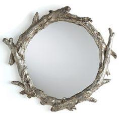 Arteriors Oakley Mirror $756 Zinc Door for Layla Grayce  #LGDreamFoyer