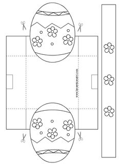 Early play templates want to make a simple easter basket easter early play templates want to make a simple easter basket easter basket templates velikonoce pinterest easter baskets pronofoot35fo Image collections