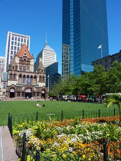 Copley Square, Boston #massachusetts #travel  Photo Credit: Tim Grafft