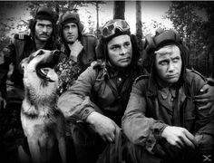 """Deszcze niespokojne"" - ""Czterej pancerni i pies"" na flecie / recorder v. Polish Films, Real Tv, War Dogs, Picture Cards, Panzer, Weird World, Diy Photo, The Good Old Days, Historical Photos"