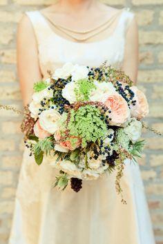 Queen Anne's Lace - Exquisite Wedding Bouquet