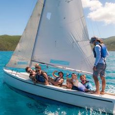 ActionQuest sailing adventure camps for teenagers. Sail this summer with the most experienced teen sailing camp in the Caribbean's British Virgin Islands. Summer Camps For Teens, First Day Of Summer, Sailing Adventures, British Virgin Islands, Caribbean, Boat, Camping, Campsite, Boats