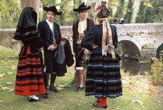 La indumentaria tradicional segoviana femenina. Castilla y Leon