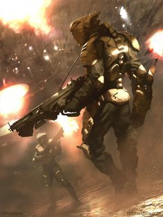 Galaxy Saga - Hunter (regular) by *jameszapata on deviantART