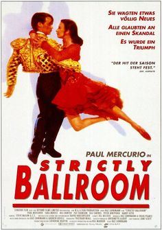 Strictly Ballroom (German) 11x17 Movie Poster (1992)