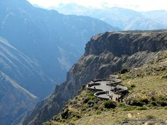 Colca Canyon, the famous Condor Crossing; about 4 hours from Arequipa.  Tour: 2 Days, 1 Night from Arequipa