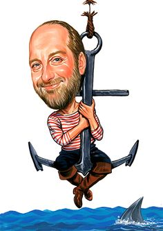Chris Elliott ...artwork by www.ExaggerArt.com