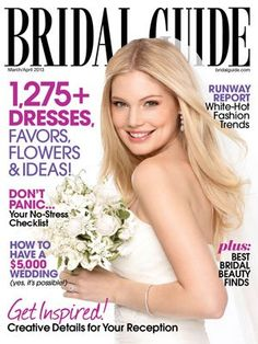 FREE 6 Month Subscription to #Bridal #Guide! Other free subscriptions include Harper's Bazaar, Coastal Living, Fitness, Nylon, Seventeen and Marie Claire just to name a few...