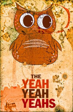 The Yeah Yeah Yeahs poster by Davis from dosecreative