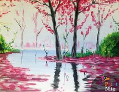 Paint sip and paint some more on pinterest wine and for Wine and paint boston
