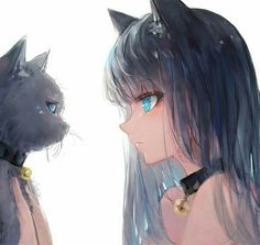 Anime Neko girls are loved all over the world. What are catgirls? what is their origin and who are the most popular anime Neko girls around? in this post, I will answer all these questions and will provide comprehensive information on the Nekomimi. Anime Neko, Kawaii Anime Girl, Pet Anime, Chica Gato Neko Anime, Pretty Anime Girl, Cool Anime Girl, Anime Animals, Chica Anime Manga, Anime Art Girl