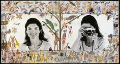Jackie O. Photo Lesson Embellished by Hog Ranch Art Department, Skorpios, 1971 © The Peter Beard Collection Peter Beard, Wildlife Photography, Art Photography, Female Photographers, African Animals, American Artists, Contemporary Artists, Photo Art, Prints