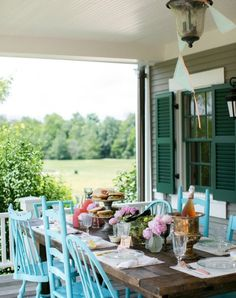 6 Ways to Get This Look:  Pretty Porch Party ~ Check out six tutorials to help you recreate this gorgeous porch party!