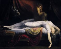 Henry Fuseli, The Nightmare, 1781, oil on canvas