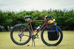 *KUMO CYCLES* randonneur complete bike - BLUE LUG