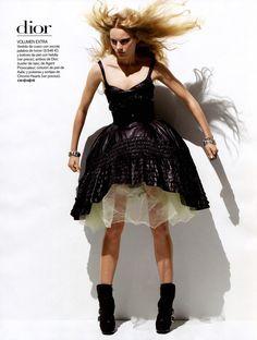 Christian Dior Fall 2010 Ready to Wear Magazine: Vogue Spain August 2010 Photographer: Thomas Schenk Model: Ieva Laguna
