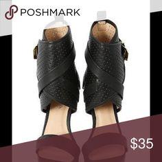 Black high heel Sexy shoe Shoes Heels