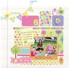 Introducing the Hello Spring Collection from Doodlebug Design - Scrapbook.com