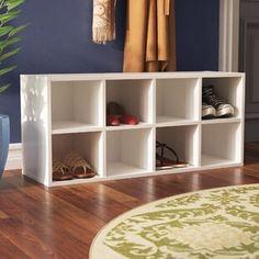Rebrilliant Lynk® 36 Pair Overdoor Shoe Organizer | Wayfair Shoe Storage Solutions, Modular Storage, Shoe Storage Cabinet, Bench With Shoe Storage, Toilet Storage, Storage Shelves, Storage Ideas, Seat Storage, Drawer Storage