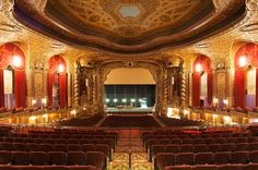 As Brooklyn's newly-restored Kings Theatre stages a grand opening concert we take a look at the lavish, meticulously refurbished interior