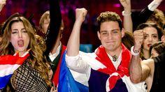 Eurovision Songcontest 2016 -  Douwe Bob - The Neterlands - semi finals