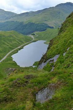 Loch Restil & Ben Donich, Argyll, Scotland by stapaw