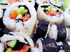 Once to take away please    http://www.sushi-selber-machen.org