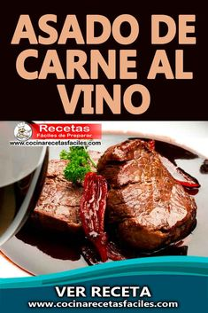 Carne Asada, Cake Recipes, Steak, Beef, Cakes, Food, Easy Recipes, Diners, Home