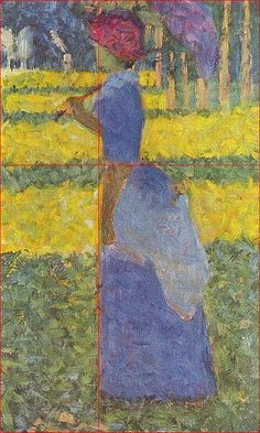 Seurat and the Golden Ratio in Art Composition.