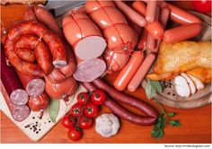 List of processed foods processed-Meat